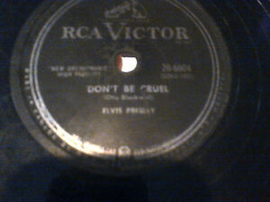 ELVIS PRESLEY LOST RECORDS DJ CLEAROUT RCACANADA78RPM  HOUND DOG Cambridge Kitchener Area image 3
