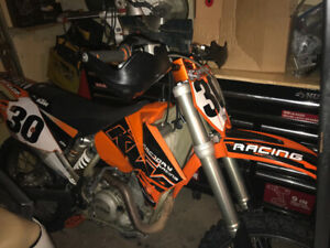 KTM 525 sx .Cheapest  one on kijiji . 2800 obo