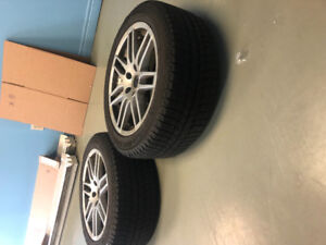 Winter tires 225/50 R17 perfect cond.