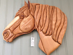 Draft Horse by Woodworker Willie Kingston Kingston Area image 1