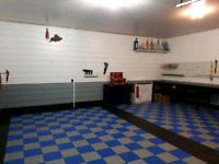 Garage Transformations and organization solutions