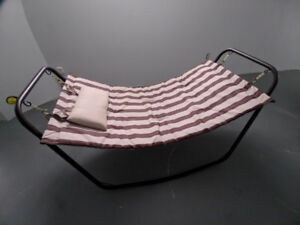 Hammock / Patio Bed with stand excel. cond. great Xmas gift