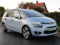 2014 Citroen Grand C4 Picasso 2.0 BlueHDi EXCLUSIVE 5DR TURBO DIESEL 7 SEATER...
