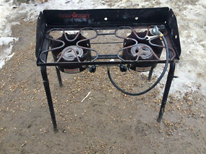 Camp Chef stove & accessories