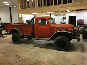Looking for power wagon parts