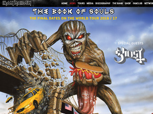 4 IRON MAIDEN BOOK OF SOULS Brooklyn NY LAST SHOW 2017