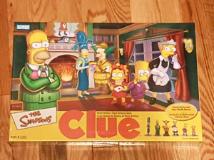 Simpson's Collectables Games, A Puzzle and Figures  (SPCA)