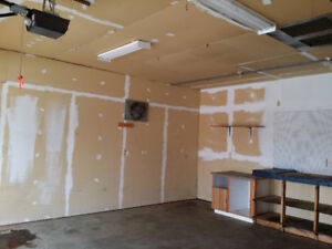 24x26 Double detached heating garage for rent