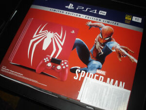 Playstation 4 Pro Spider-Man Limited Edition