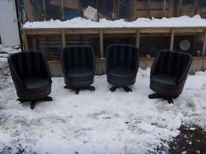 BARREL CHAIRS