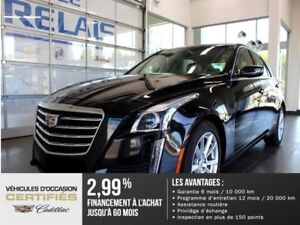 Cadillac CTS Sedan 2.0L - CUIR - BLUETOOTH 2017