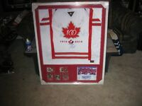 SIGNED TEAM CANADA JERSEY AND MORE