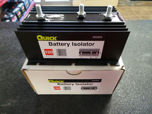 120 AMPS BATTERY ISOLATOR (50%OFF)