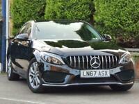 2017 Mercedes-Benz C Class C200 Sport Premium AUTO (28500 Miles) 9G-Tronic+Plus