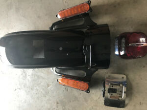 2010 Harley CVO rear fender
