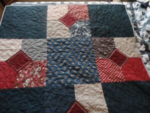 Handmade Baby Quilt Reduced