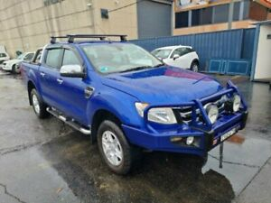 2014 Ford Ranger PX XLT 3.2 (4x4) Blue 6 Speed Automatic Double Cab Pick Up Revesby Bankstown Area Preview