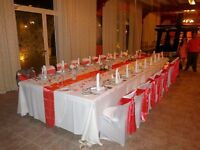 Table runners & chair sashes