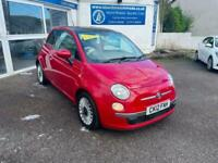 Fiat 500 lounge automatic 1.2 dualogic red warranty and delivery options