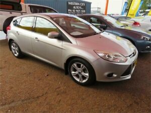 2012 Ford Focus LW Ambiente PwrShift Silver 6 Speed Sports Automatic Dual Clutch Hatchback Minchinbury Blacktown Area Preview