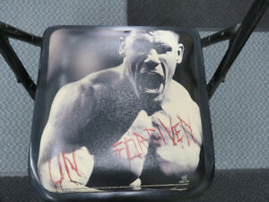 WWE Unforgiven 2006 PPV Ringside Chair with John Cena