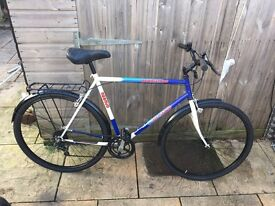 Gents Hybrid/Town Bike. Fully Serviced, Free Lock/Lights/Delivery