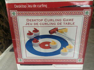 Brand New Desktop Curling Game