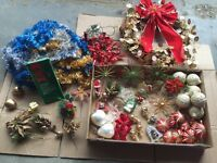 Lot 1 of Christmas Decorations