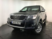 2015 TOYOTA HILUX INVINCIBLE D-4D 4X4 AUTO DIESEL PICK-UP 1 OWNER FINANCE PX