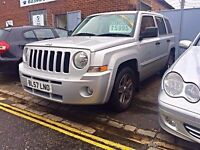 2007 (57) Jeep Patriot Limited Automatic - 1 Year MOT & 3 Months FREE Warranty