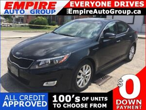 2015 KIA OPTIMA EX * LEATHER * NAV * REAR CAM * HEATED SEATS * P