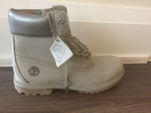 Timberland boots silver/grey Size 10