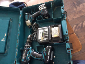 Kit de perceuses 18V Makita