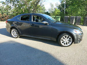 2011 Lexus IS250 AWD w/ very low KMs