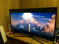 "Samsung 48"" 4K CURVED smart Ultra HD LED Tv warranty free delivery Boxed"