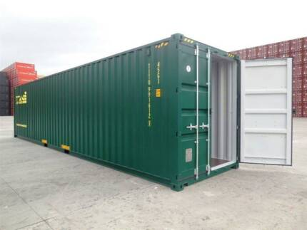 40Ft Hi-Cube Shipping Containers