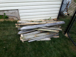 Free scrap lumber for fire pit