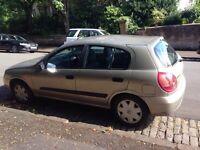 04 plate Nissan almera