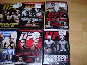 """15 UFC dvds ***BRAND NEW*** trade for 17"""" Rims and Tires London Ontario image 7"""