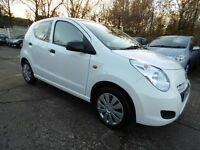 Suzuki Alto 1.0 SZ (1 OWNER + 11 MONTH MOT + LOW RATE FINANCE AVAILABLE)) (white) 2013