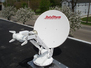 Mobile Satelite dish. Internet where and when ever you want it!