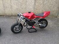 Minimoto 49cc red