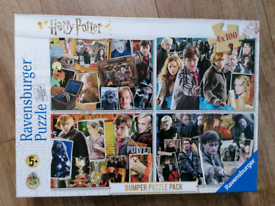Harry Potter jigsaw (4 X 100 pieces in the box) see description