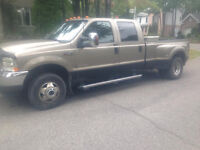 ford f-350 2004 lariat diesel !double roue