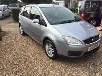 Ford Focus cmax 1.8 petrol