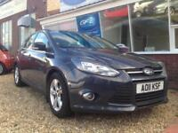 2011 11 Ford Focus 1.6 TDCi Zetec £20 PER YEAR TAX, FINANCE AVAILABLE