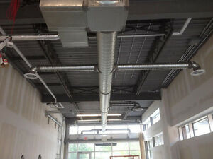 Duct work Hvac Residential & Commercial ,Licensed , Insured, WCB
