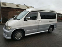 Mazda Bongo Quicksilver Auto Free top with Full Side Conversion