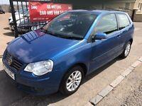 2007 VW POLO 1.4 S, 1 YEAR MOT, SERVICE HISTORY, WARRANTY, NOT CORSA CLIO FIESTA PUNTO AYGO