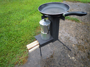 Survival Rocket Stove